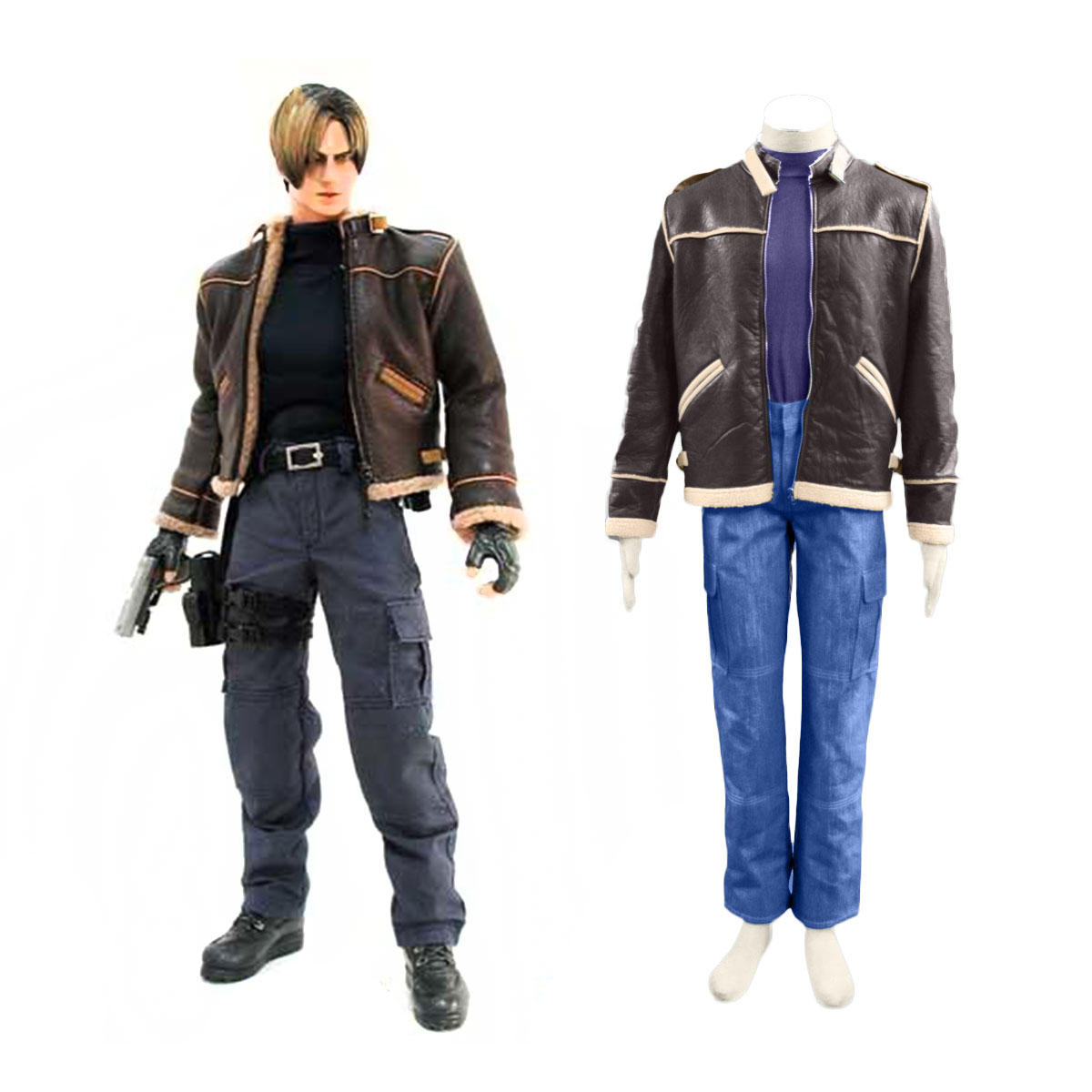 Resident Evil 4 Leon S. Kennedy Cosplay Puvut Suomi