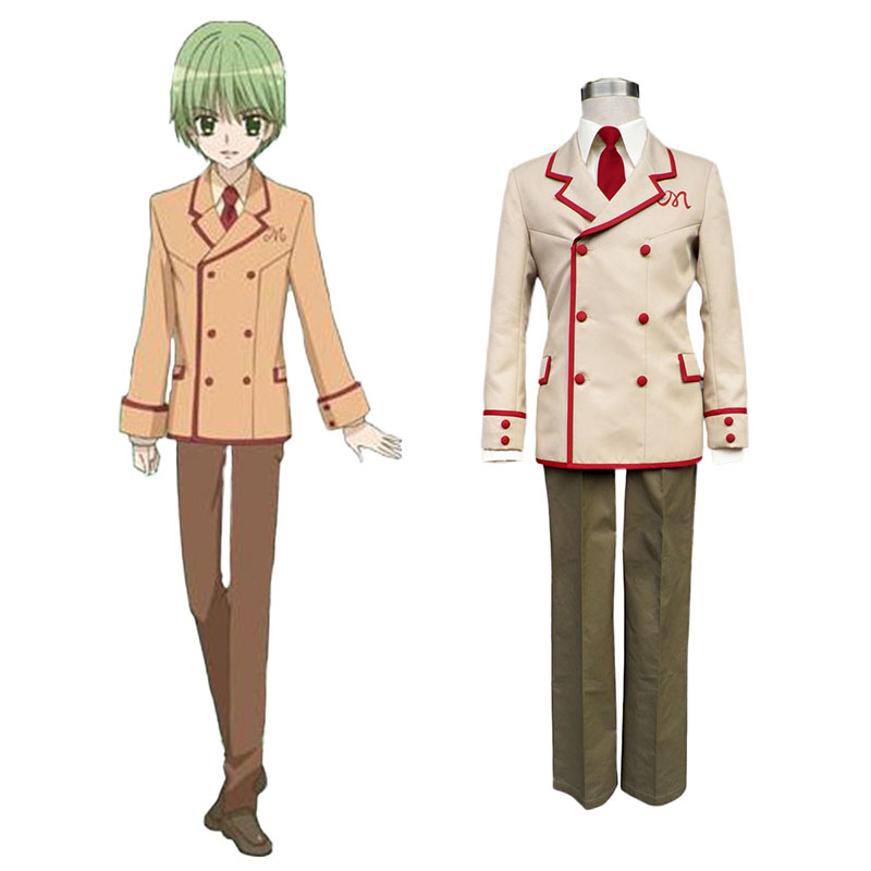 Yumeiro Patissiere Male School Työvaate Cosplay Puvut Suomi