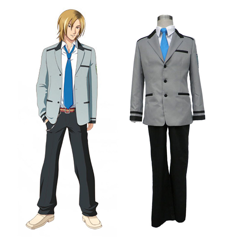 Tokimeki Memorial Girl's Side Male School Työvaate Cosplay Puvut Suomi