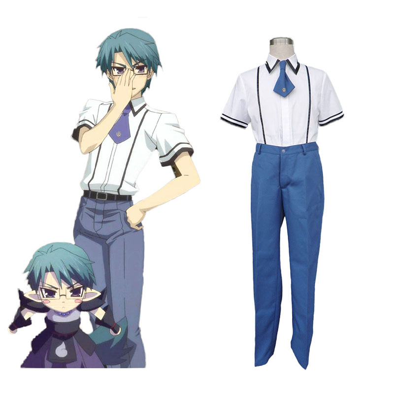 Baka and Test Male School Työvaate Cosplay Puvut Suomi