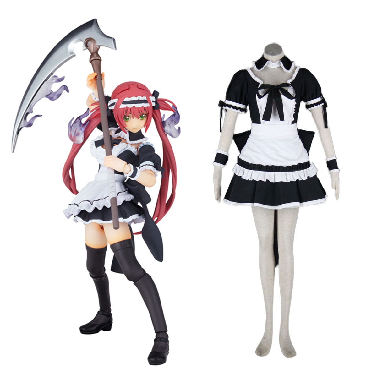 Queen's Blade Airi Maid Cosplay Puvut Suomi
