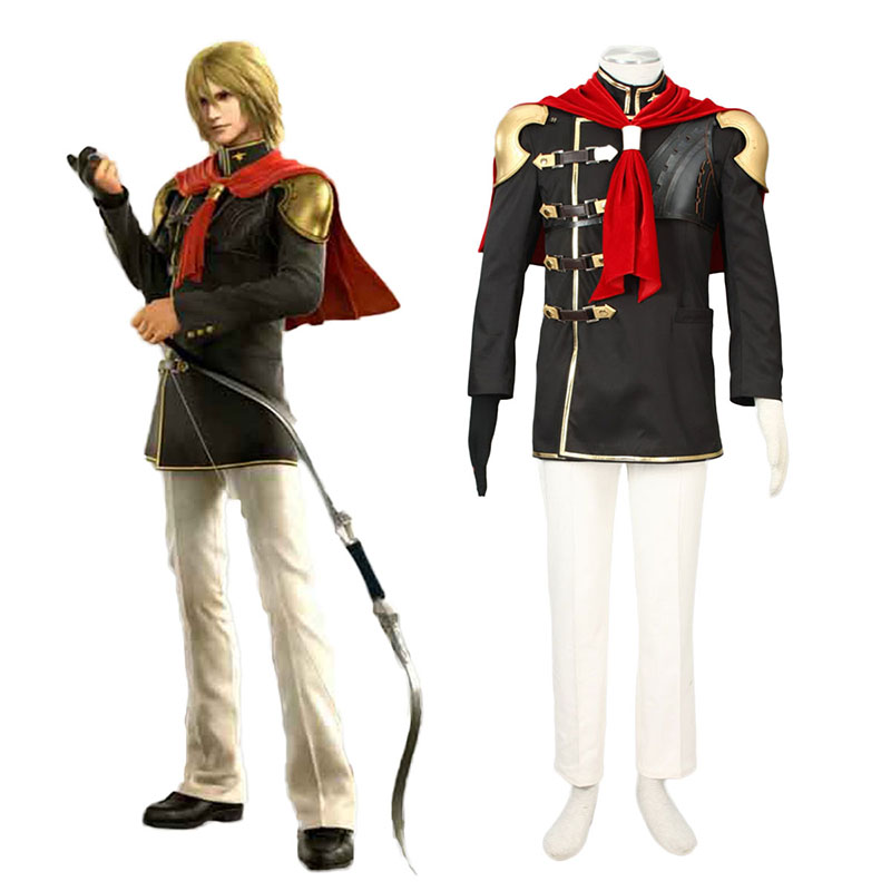 Final Fantasy Type-0 Trey 1 Cosplay Puvut Suomi