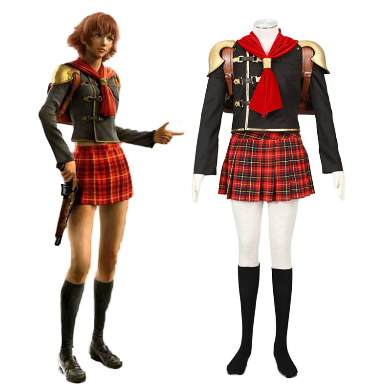 Final Fantasy Type-0 Cater 1 Cosplay Puvut Suomi