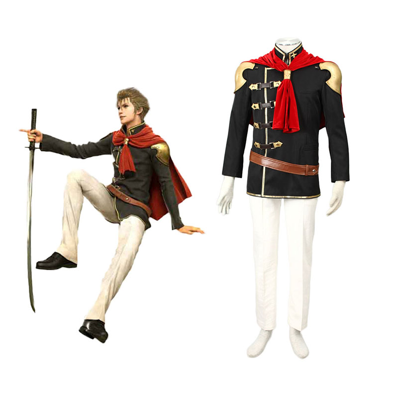 Final Fantasy Type-0 Jack 1 Cosplay Puvut Suomi