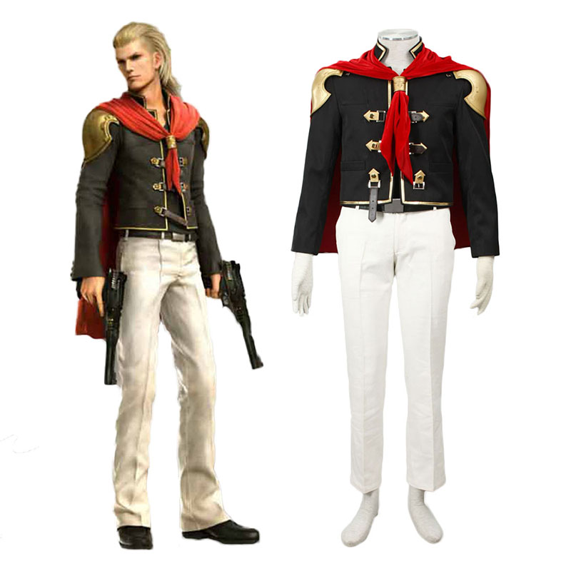 Final Fantasy Type-0 King 1 Cosplay Puvut Suomi