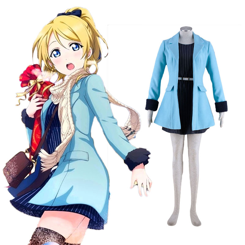 Love Live! Eli Ayase 2 Cosplay Puvut Suomi