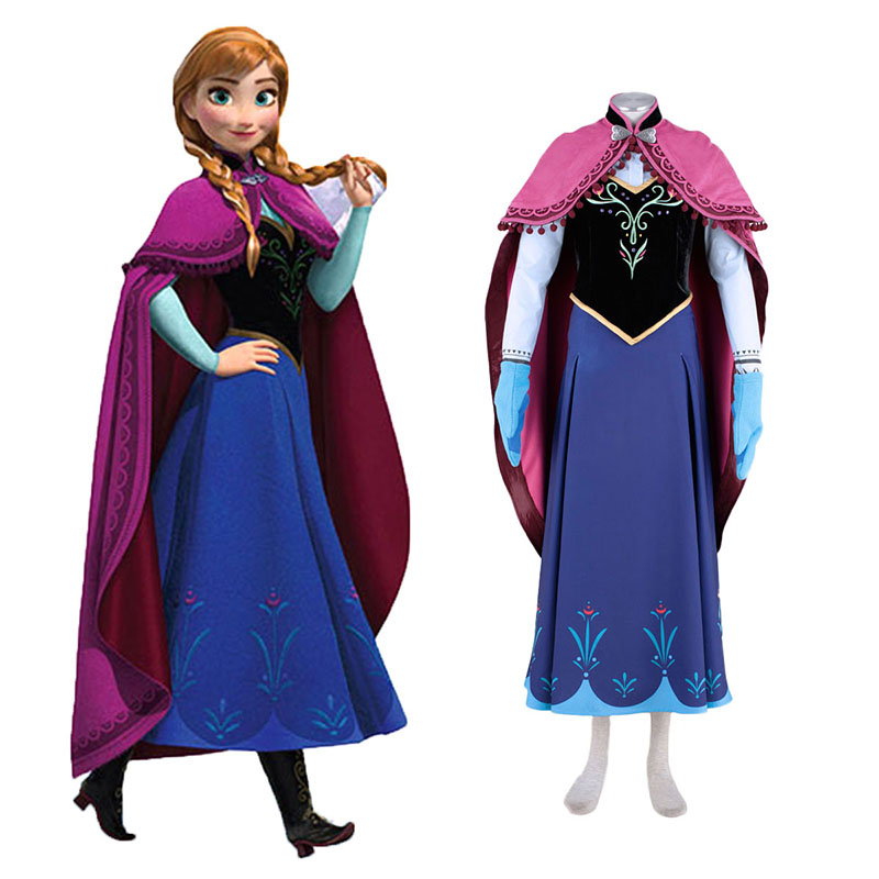 Frozen Anna 1 Cosplay Puvut Suomi