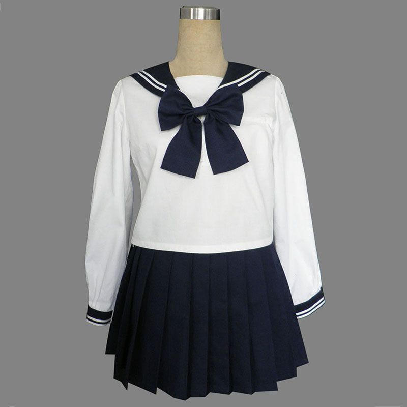 Long Sleeves Sailor Työvaate 9 Cosplay Puvut Suomi