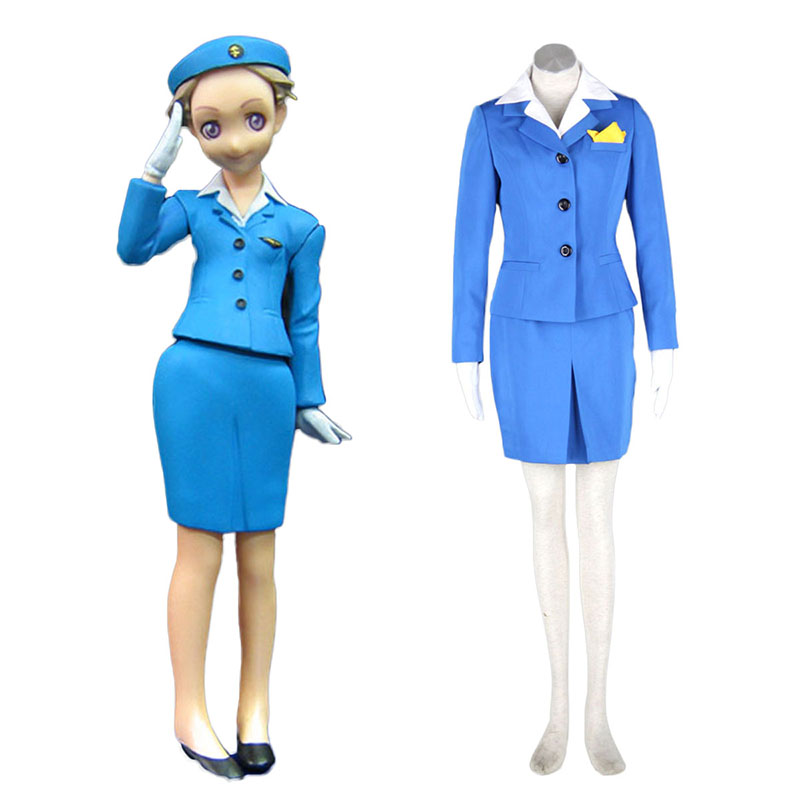 Aviation Työvaate Culture Stewardess 1 Cosplay Puvut Suomi