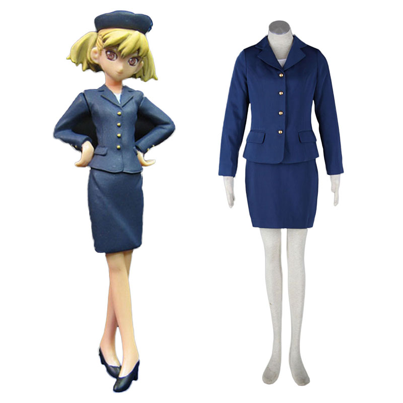 Aviation Työvaate Culture Stewardess 3 Cosplay Puvut Suomi
