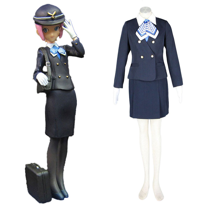 Aviation Työvaate Culture Stewardess 7 Cosplay Puvut Suomi
