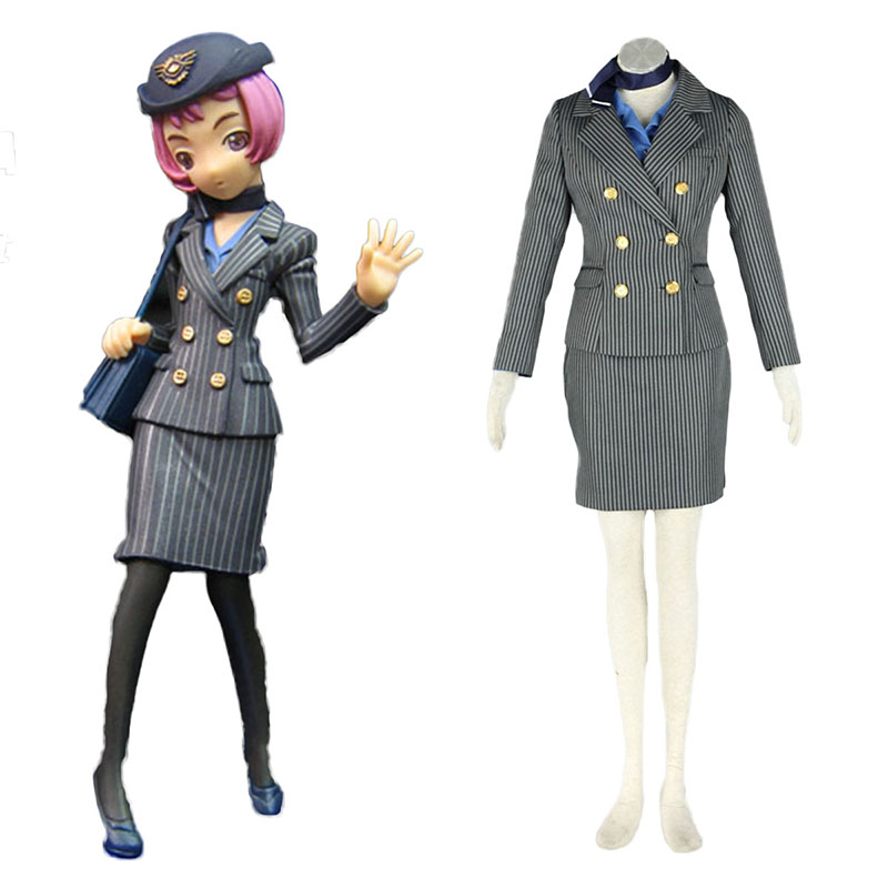 Aviation Työvaate Culture Stewardess 8 Cosplay Puvut Suomi