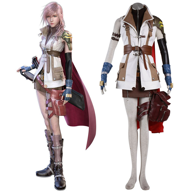 Final Fantasy XIII Lightning 1 Cosplay Puvut Suomi