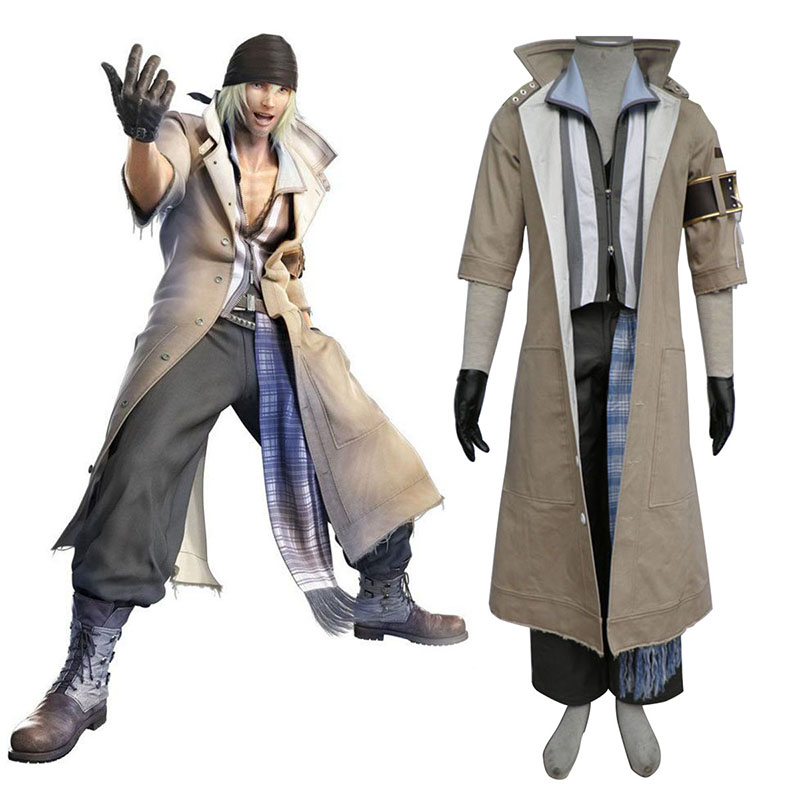 Final Fantasy XIII Snow Villiers 1 Cosplay Puvut Suomi