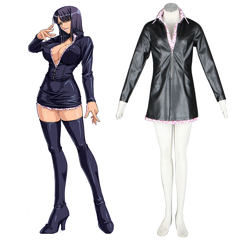One Piece Nico·Robin 2 Green Cosplay Puvut Suomi