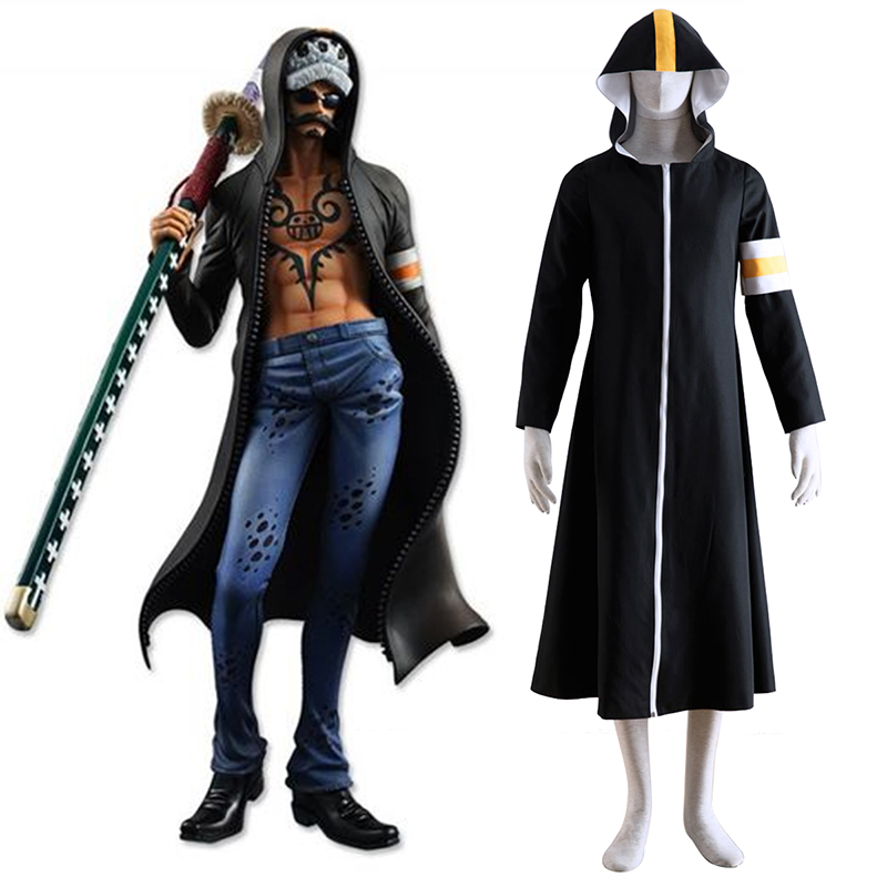 One Piece Surgeon of Death Trafalgar Law 1 Cosplay Puvut Suomi