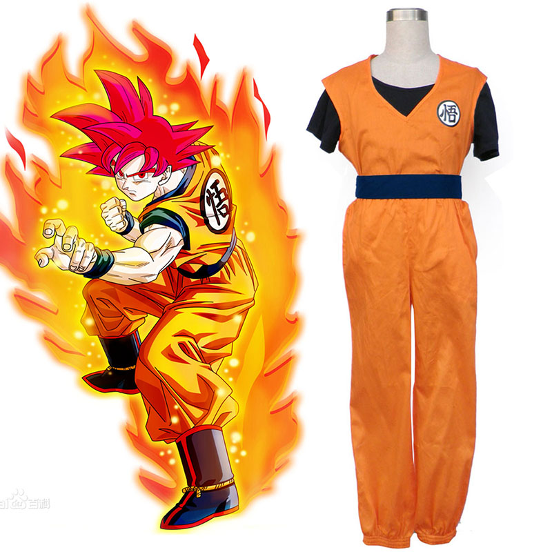 Dragon Ball Son Goku 2 Cosplay Puvut Suomi
