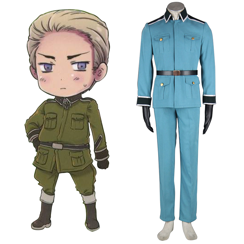 Axis Powers Hetalia Germany 1 Military Työvaate Cosplay Puvut Suomi