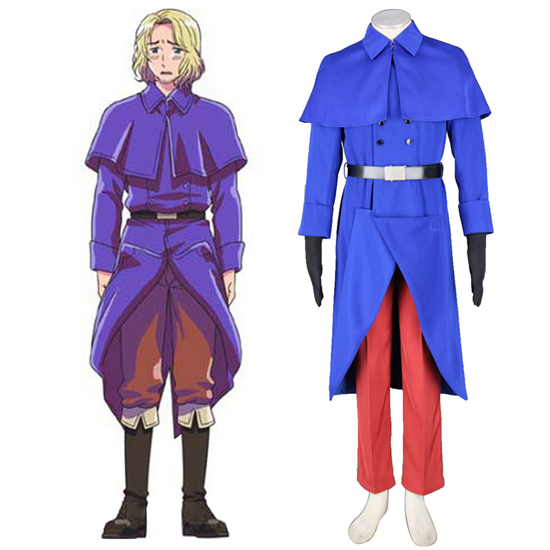Axis Powers Hetalia France Francis Bonnefeuille 1 Cosplay Puvut Suomi