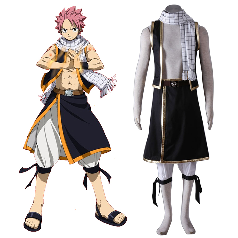 Fairy Tail Natsu Dragneel 1 Cosplay Puvut Suomi