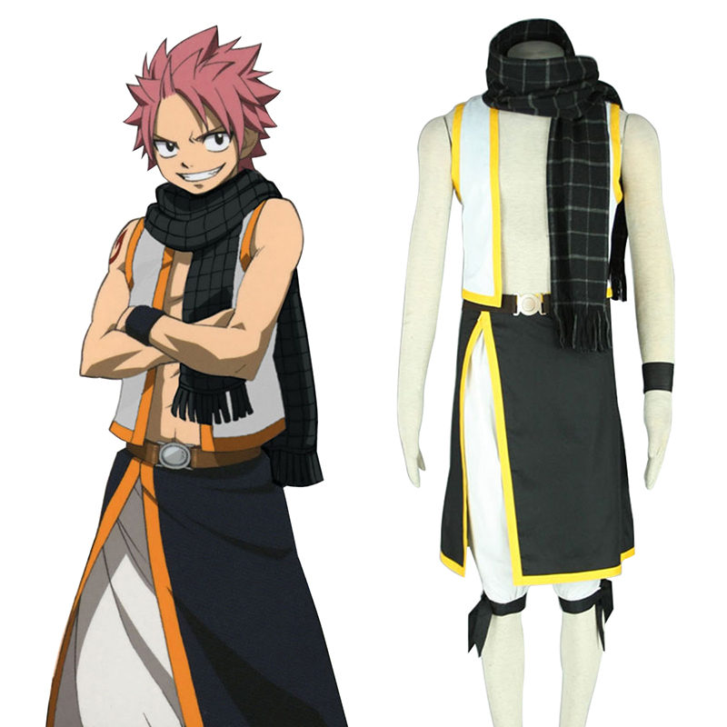 Fairy Tail Natsu Dragneel 2 Cosplay Puvut Suomi