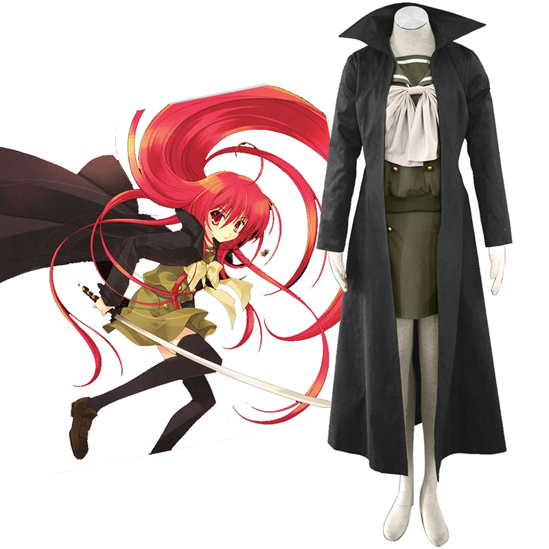 Shakugan no Shana Shana 3 Cloak Cosplay Puvut Suomi