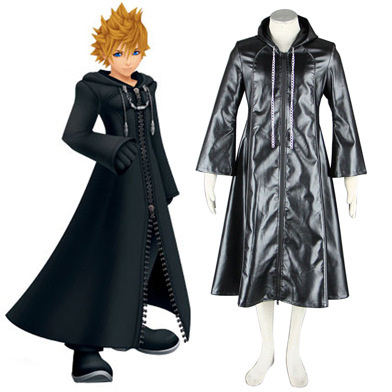 Kingdom Hearts Organization XIII 3 Roxas Cosplay Puvut Suomi