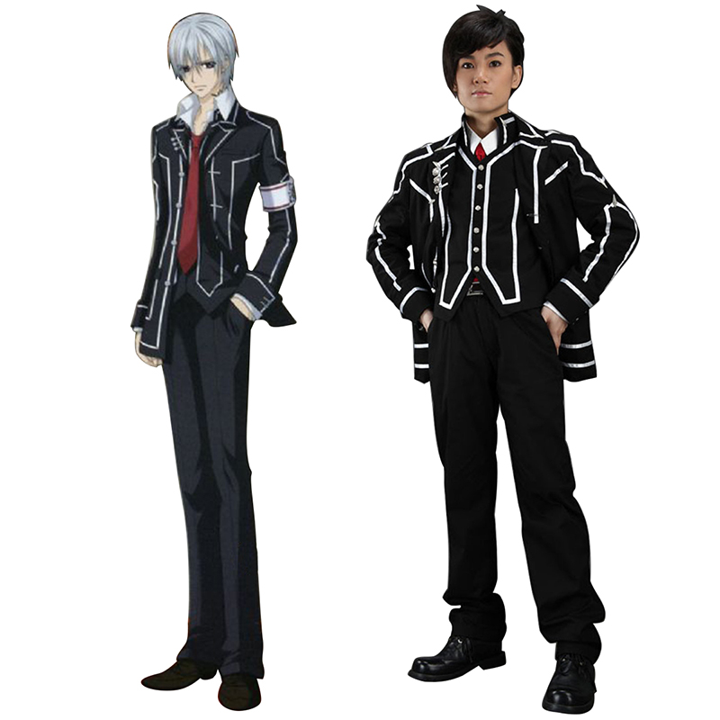 Vampire Knight Day Class Musta Male School Työvaate Cosplay Puvut Suomi