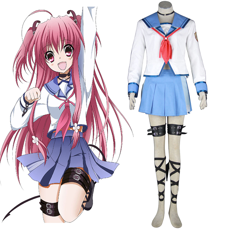 Angel Beats! Yui 1 Cosplay Puvut Suomi