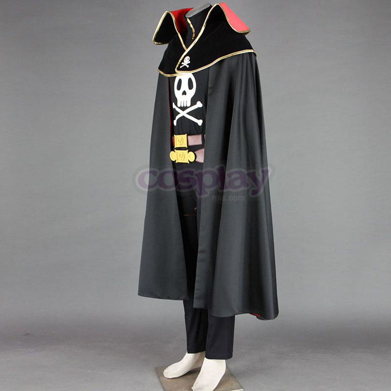Galaxy Express 999 Captain Harlock Cosplay Puvut Suomi