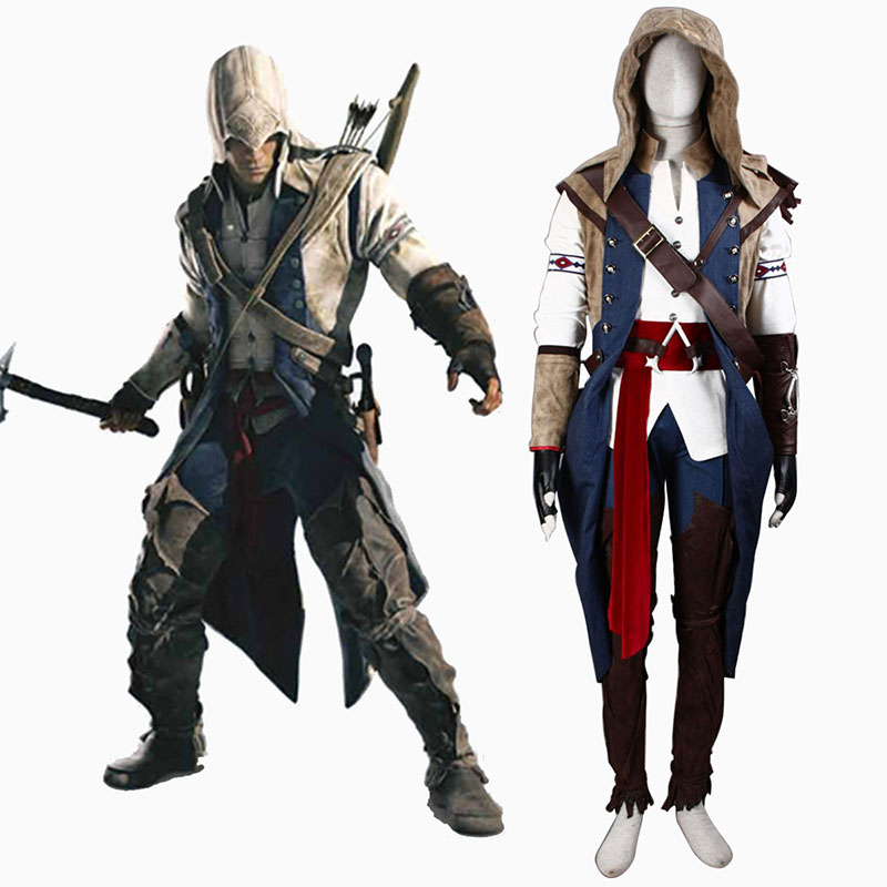 Assassin's Creed III Assassin 7 Cosplay Puvut Suomi