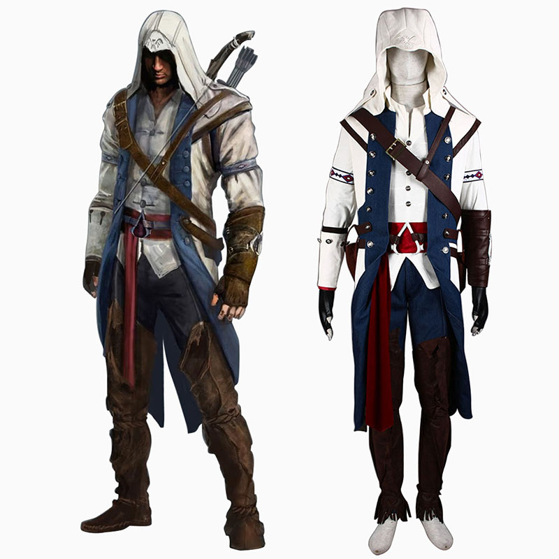 Assassin's Creed III Assassin 8 Cosplay Puvut Suomi
