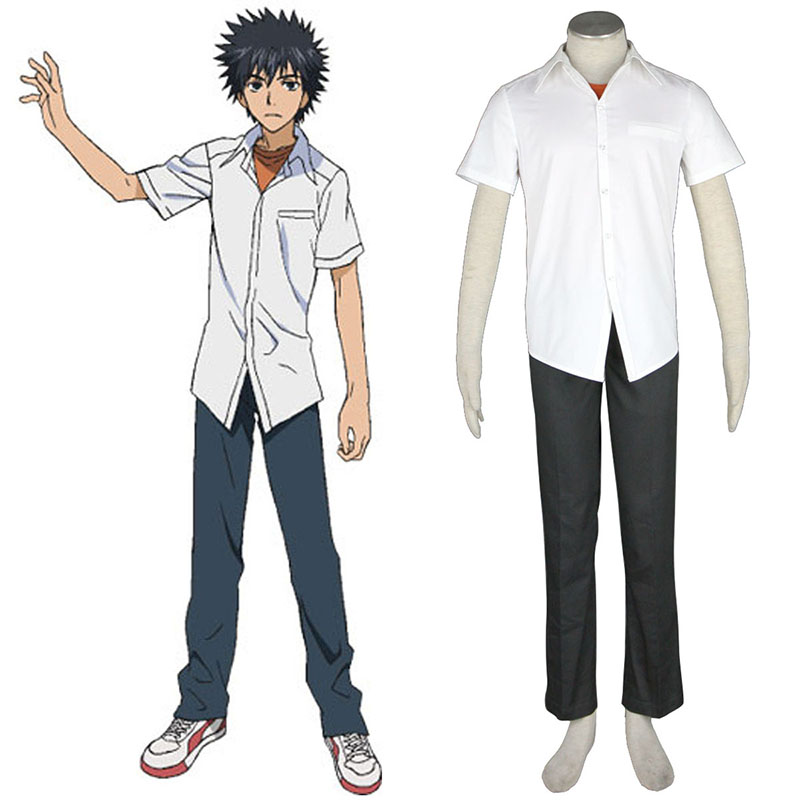 A Certain Magical Index Kamijou Touma 1 Cosplay Puvut Suomi