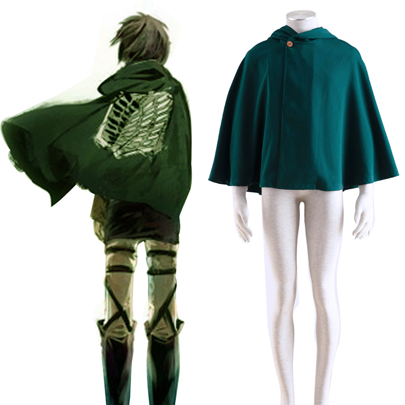 Attack on Titan Survey Corps Cloak 2 Cosplay Puvut Suomi