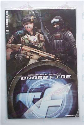 CrossFire Tarvikkeet Notebook