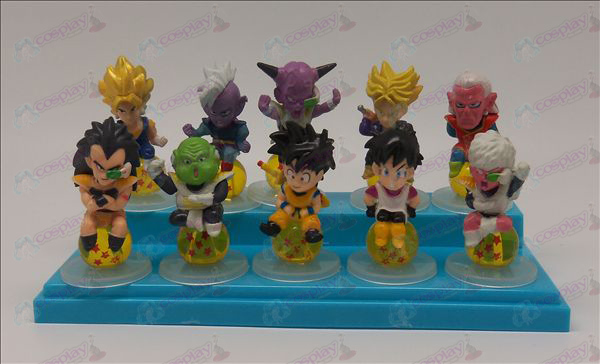 10 sit Pearl Dragon Ball Tarvikkeet Base 2