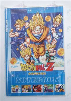 Dragon Ball Tarvikkeet Notebook