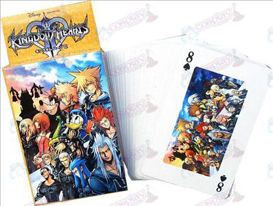 Kingdom Hearts Tarvikkeet Poker 2