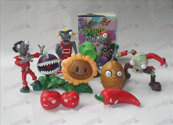 10 Plants vs Zombies Tarvikkeet Doll (boxed)