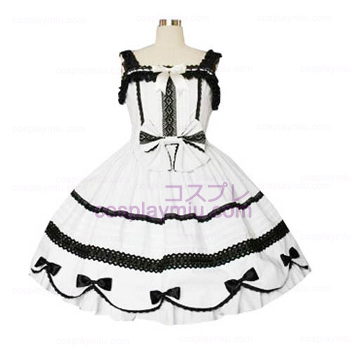 Lace Trimmatut Gothic Lolita Cosplay Dress