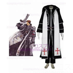 Trinity Blood Tres Iqus 65% puuvilla 35% polyesteri Cosplay pukuja