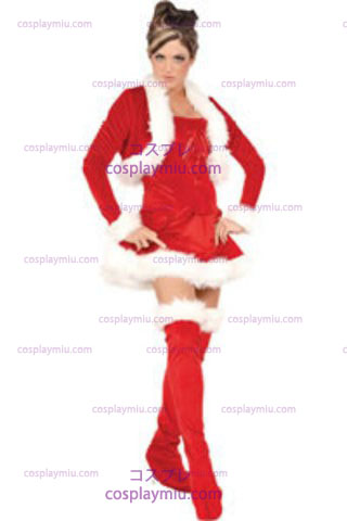 Ms Claus Adult Medium