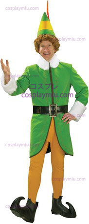Buddy Elf Dlx Adult Large