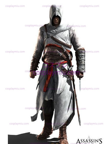 Assassins Creed II Ezio Cosplay White Edition