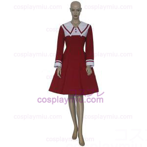 Chobits Chii Red Dress Cosplay pukuja