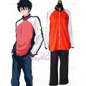 Prince Of Tennis valinnat Team Winter Uniform Cosplay pukuja
