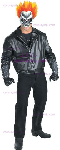 Ghost Rider Adult cosplay pukuja