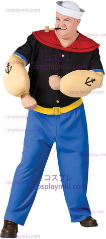 Popeye cosplay pukuja Plus