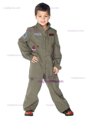 Top Gun Flight Suit Kids puku