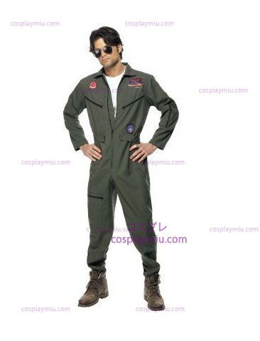 Top Gun puku Green Jumpsuit
